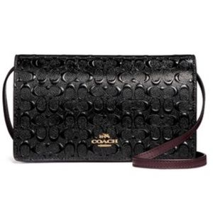 Coach Signature Crossbody Clutch